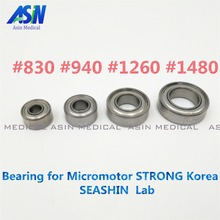 2017 1 setsX  Micro Motor Handpiece 35,000RPM Bearing 102L 4 pcs Bearings a set Micromotor STRONG Korea SEASHIN Lab