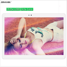 10.1 inch Tablet PC Android 6.0 3G 4G Call Octa Core 4GB RAM 32GB ROM 8 Cores 1920*1200 IPS Kid Gift MID Tablets 10 10.1