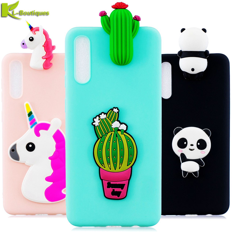Soft Phone Cases sFor Coque <font><b>Samsung</b></font> <font><b>Galaxy</b></font> <font><b>A50</b></font> Case Cute 3D DIY Panda Bear Doll Toy Cover for <font><b>Samsung</b></font> <font><b>A50</b></font> A 50 A505F <font><b>A505</b></font> Etui image
