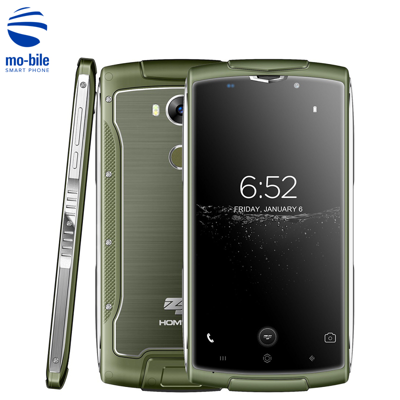bilder für Homtom ZOJI Z7 4G Smartphone 5,0 zoll Android 6.0 MTK6737 Quad Core 1,3 GHz 2 GB + 16 GB 8MP Fingerprint ID Wasserdichte Handy