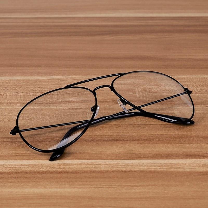 NOSSA Klasický brýlový rám Vintage kovové brýle Pánské a dámské brýlové obruby Rámy na dioptrické brýle