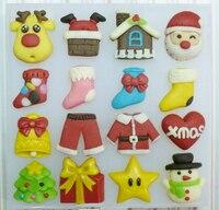 Cartoon Elk Santa Snowman Christmas House Christmas Theme Handmade Chocolate Mold