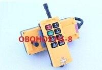 12V 24V 220V 380V HS 8 8 Keys Industrial Remote Controller 1 Transmitter 1 Receiver Crane