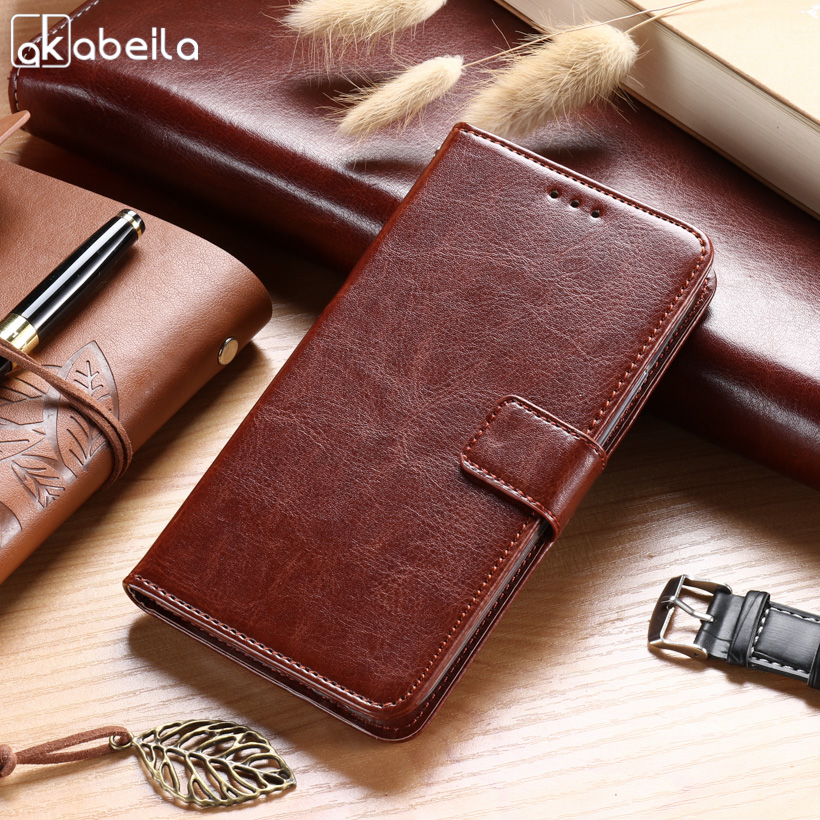 AKABEILA Cases For HTC Desire 626 650 D650 628 A32 626w 626D 5.0 inch Leather Wallet Phone Case Cover Holster Card Holders Shell