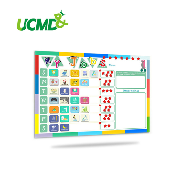 Aliexpress  Buy Magnetic Chores Chart Dry Erase Board Wall