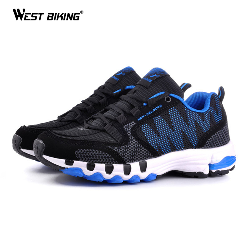 WEST BIKING High Quality Mesh Breathable Cycling Bicycle Shoes Sport Sneakers For Men And Women Sports Shoes Bicicleta Shoes high quality black boxing shoes men women training shoes sport sneakers professional martial art mma grappling boxing shoes