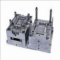 Single Body Clothes Washing Machine Shell Plastic Injection Mold