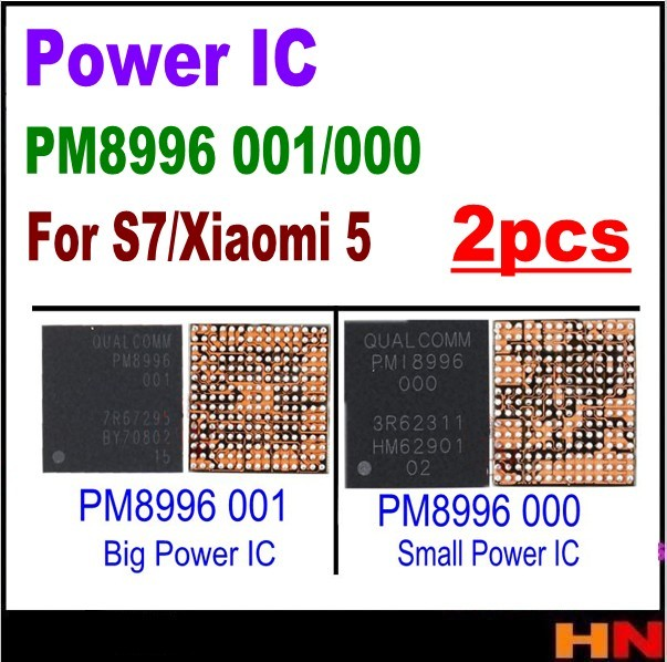US $8 46 5% OFF|2pcs PM8996 001 000 For Samsung S7 G9300 Big Power IC For  LG G5 Large Main Power Management chip PM small power IC-in Mobile Phone