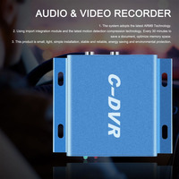 Original TC DVR Mini C DVR Security Digital Video Audio Recorder Support TF Card Motion Detection