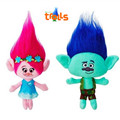 Newest 2016 Movie Trolls Plush Toys Poppy Branch Dream Works Stuffed Cartoon Dolls The Good Luck Trolls Christmas Gifts