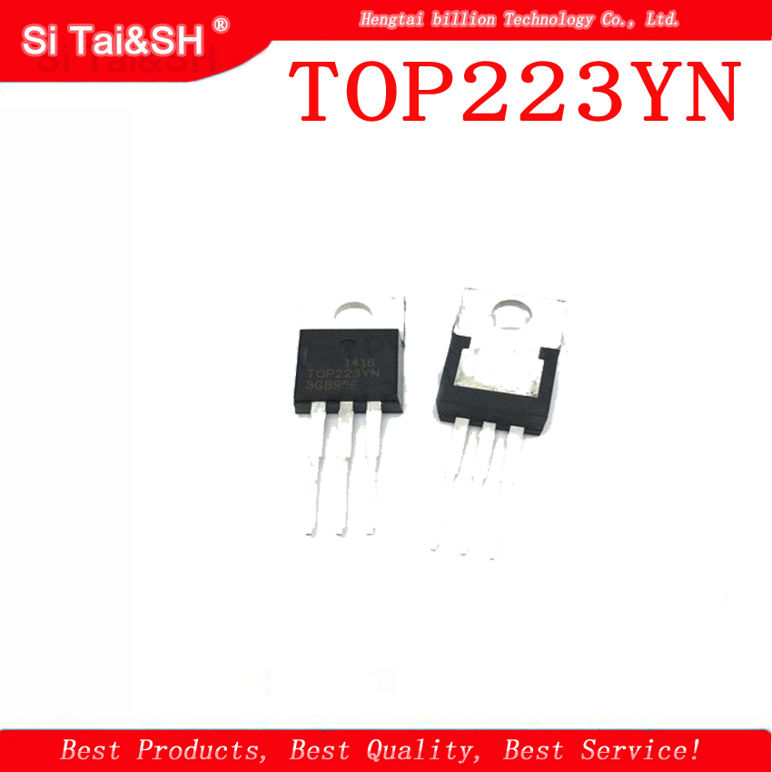 10PCS TOP223YN TOP223Y TOP223  TO-220  AC/DC converter chip10PCS TOP223YN TOP223Y TOP223  TO-220  AC/DC converter chip