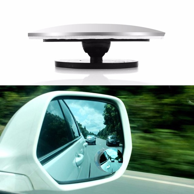 1 pcs Auto 360 Wide Angle Round Convex Mirror Car Vehicle Side Blindspot Blind Spot Mirror Wide RearView Small Round Mirror