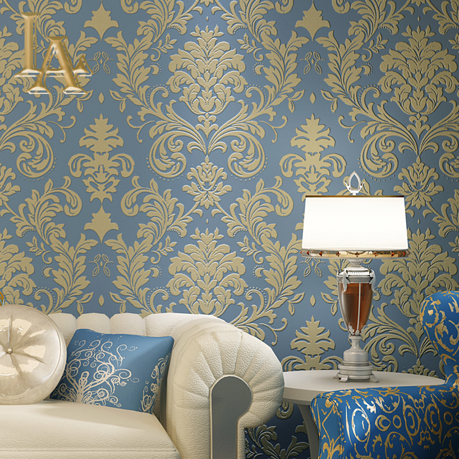 Luxury Western Style Classic Design Shell Damask 3d