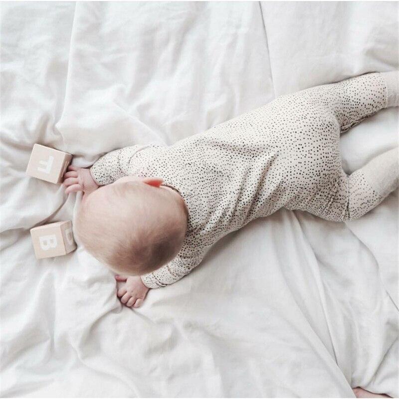 EnkeliBB New Born Baby Autumn Romper Infant Boys Fashion brand Jumpsuits Fashion European Style One-pieces New Baby Boys Romper