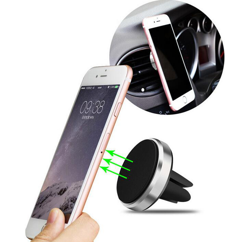 Car Magnetic Air Vent Mount Mobile phone Stand For <font><b>Ford</b></font> Focus 2 1 Fiesta Mondeo 4 3 Transit <font><b>Fusion</b></font> Kuga Ranger Mustang KA S-max image