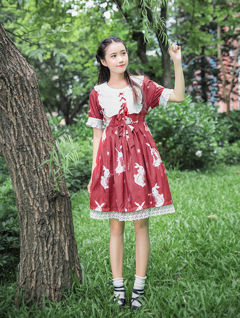 Kawaii Long Sleeved Dress
