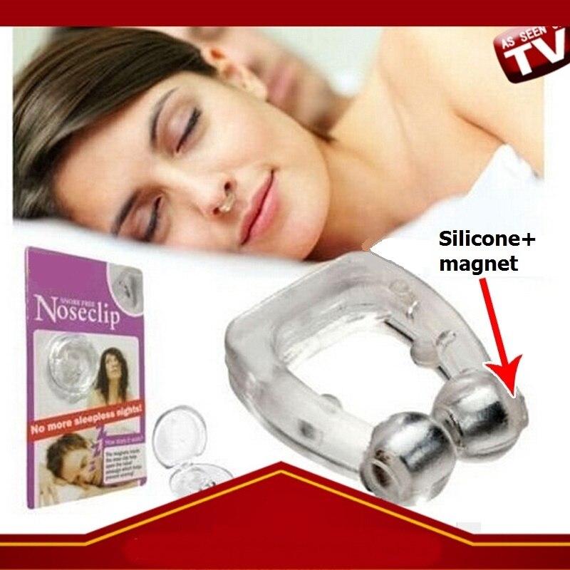 9 Uds Clips antironquidos de silicona suave imán construido ayudas para el sueño Nasal Clip al por mayor Máscara Nasal Dreamwear bajo la nariz, máscara Nasal antironquidos, máscara cómoda para dormir, aparato de respiración para las herramientas de Apnea del sueño
