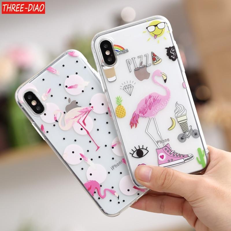 63a9e6a3e49 Funda 5S para iphone THREE DIAO 5 SE 6 6 s 7 8 plus granito Scrub ...