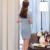 Cachecol Estilo de moda Verão Saia Terno Azul Claro 2 Peças Se Adapte Curto-luva Blazer Jacket & Skirt New Arrivals as mulheres Usam