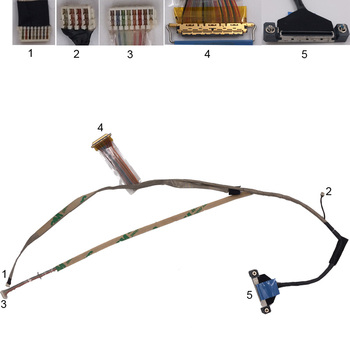 NEW Laptop Cable For DELL Latitude E6510 P/N DC02C000H0L Replacement Repair Notebook LCD LVDS CABLE