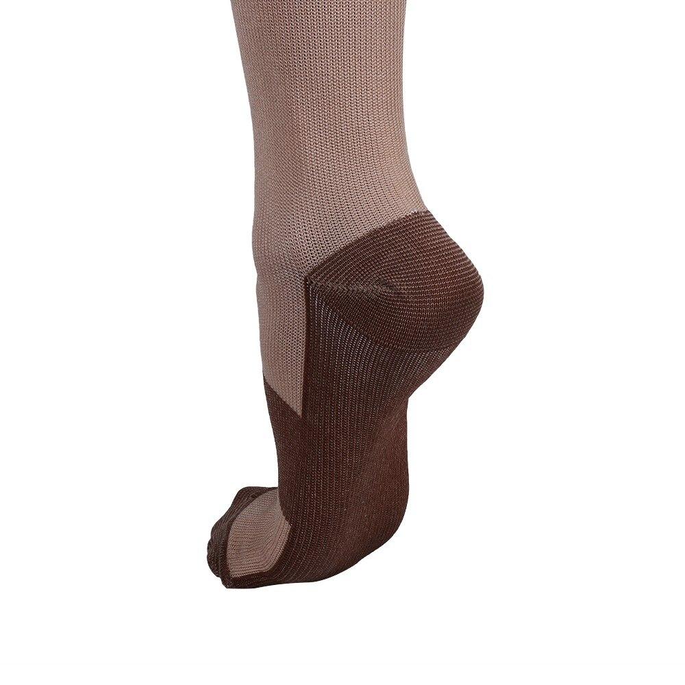 Underwear & Sleepwears Unisex Miracle Copper Compression Socks Knee Anti-fatigue Leg Slimming Socks For Men And Woman