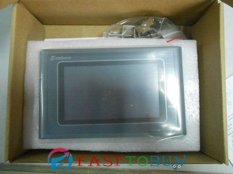 SAMKOON HMI Touch Screen SK-043AE 4.3 262 144 Color TFT New samkoon display and control hmi touch screen sk 035ae 3 5 color tft new