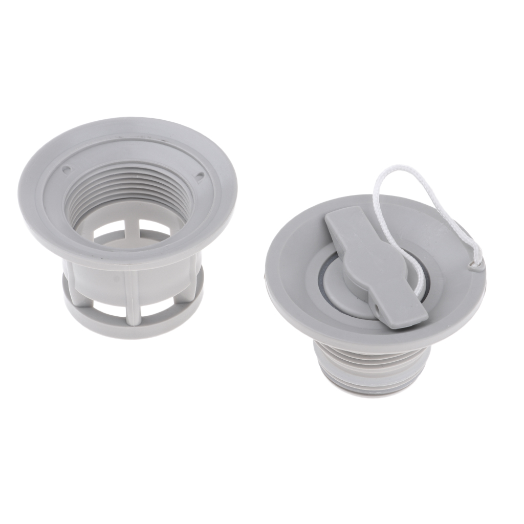 6 Holes Air Valve Screw Cap For Inflatable Boats Raft Kayak Airbed Outdoor High Quality PVC Material Durable