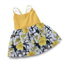 US Toddler Newborn Baby Girl Kids Floral Short Mini Dress Infant Summer Sundress