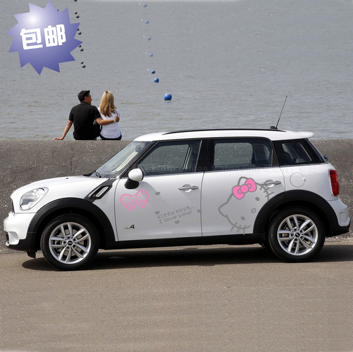 Car Styling Hello Kitty Car Sticker Car Body Stickers And
