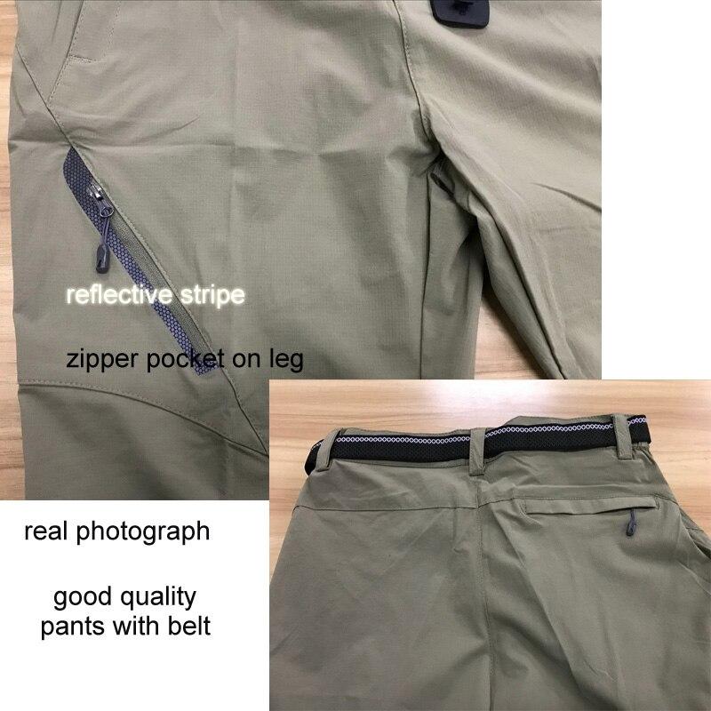 CavalryWalf 8XL Elastikus Quick Dry túrázó nadrágok Men's Summer - Sportruházat és sportolási kiegészítők - Fénykép 3