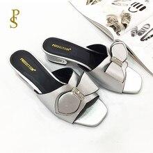 Klapki dla matki z kokardkami dla kobiet afrykański styl butów