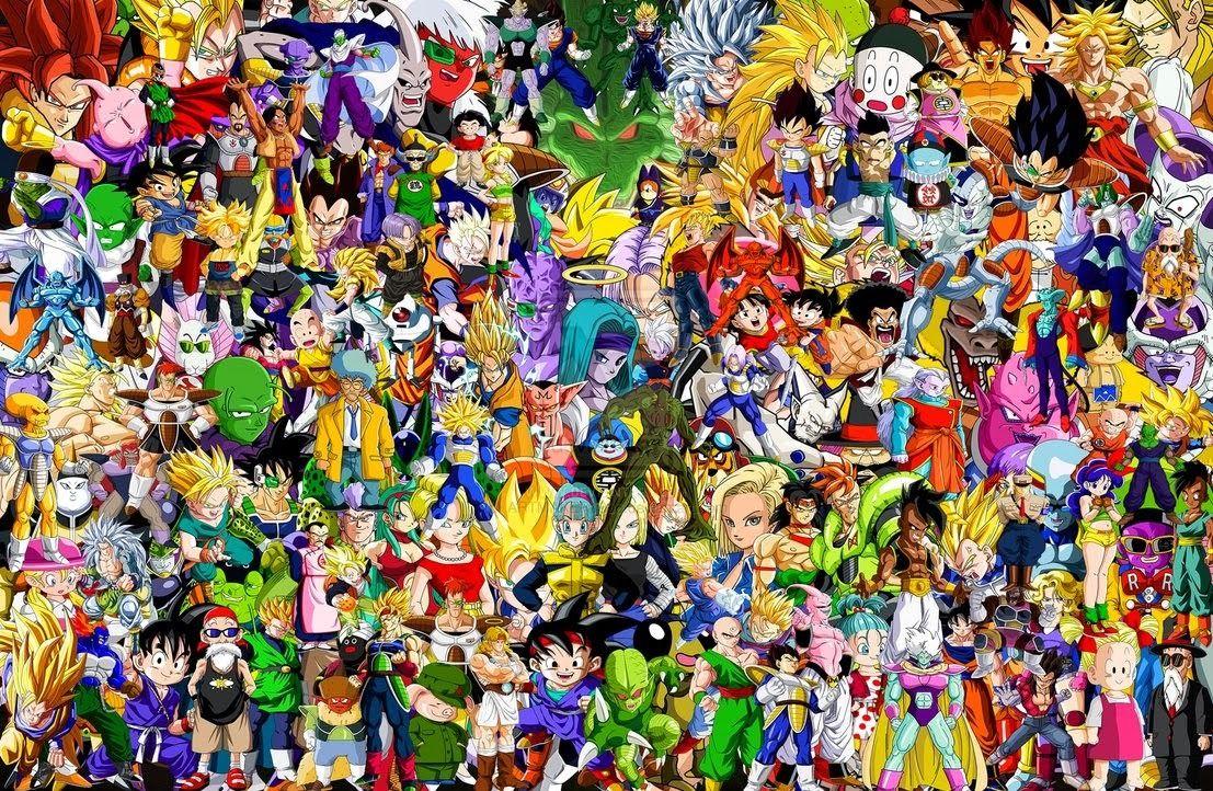 Z Characters Anime : Dragon ball z poster goku super zeiya anime art silk wall
