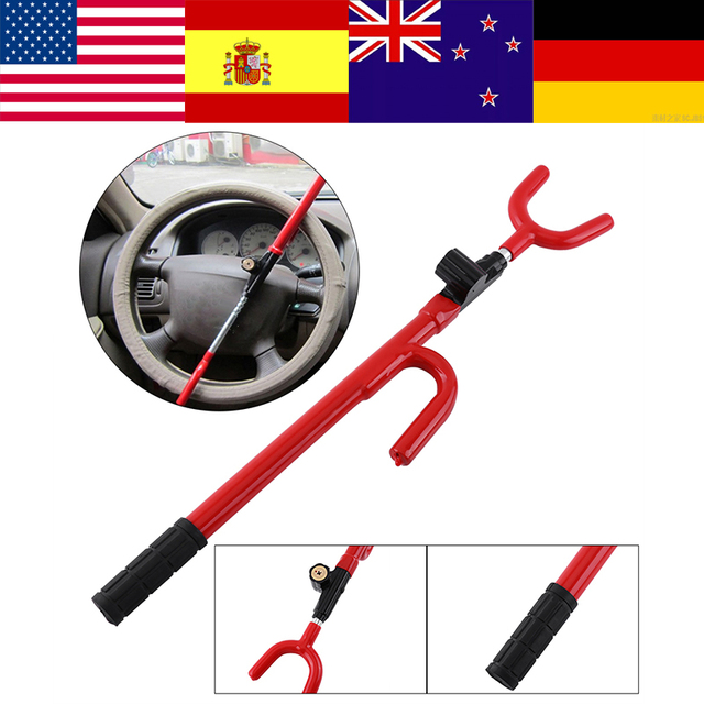 Zerone Oversea Car Steering Wheel Caw Steering Wheel Lock Anti-theft Device