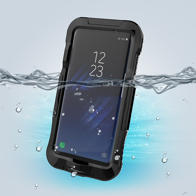 AILKIN Newest Waterproof Case for Samsung Galaxy S8 S8 Plus Kickstand Armor Cover for SM-S8 Plus Swimming Phone Case Protector (5)