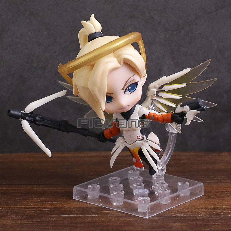 5 Piece Garrison Fortnight Battle Royale Skin Video Games: Nendoroid Mercy Classic Skin Edition 790 PVC Action Figure
