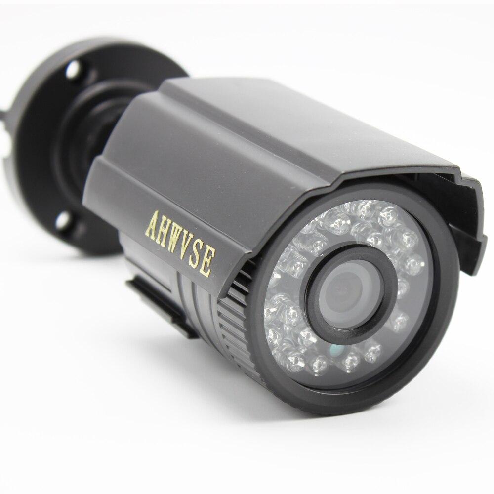 IR-CUT 1200TVL CCTV Caméra 24 PCS IR LED Bonne Nuit Vision Sécurité À La Maison Vidéo Caméra de Surveillance Intérieure/Extérieure Mini caméra