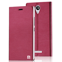 New Luxury PU Leather Flip Cover For Xiaomi Redmi Note 2 Case With Stand Original For