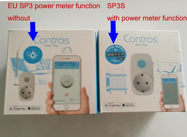 Broadlink sp3 uesp3s plug wifi tomada de