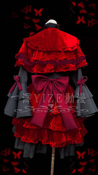 New Anime K Kushina Anna Cosplay Fancy Dress Girls Lolita Dress Halloween Costumes for Women Maid Dresses Adult Costumes S-XL 2