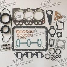 Детали двигателя Yanmar 3TNA66 3TN66 полный комплект прокладок с прокладкой головки цилиндра