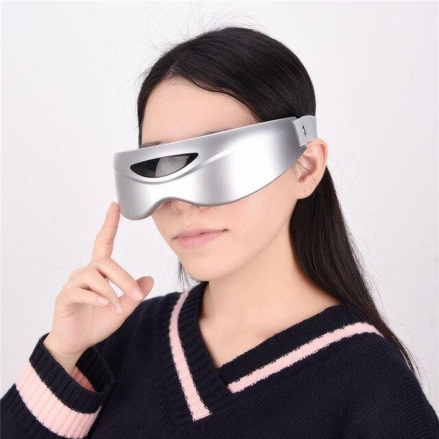 אינפרא אדום מחוות בקרת עיניים לעיסוי אלחוטי חשמלי עיניים לעיסוי מגנטי עיסוי רטט משקפיים עיני טיפול מכשיר P46