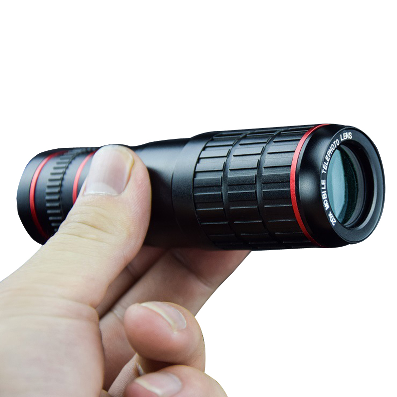 Ecusells 20X Clip on Optical Zoom Telescope Camera Lens for Universal Mobile Cell Phone Smartphone Telescope Lente Para Celular