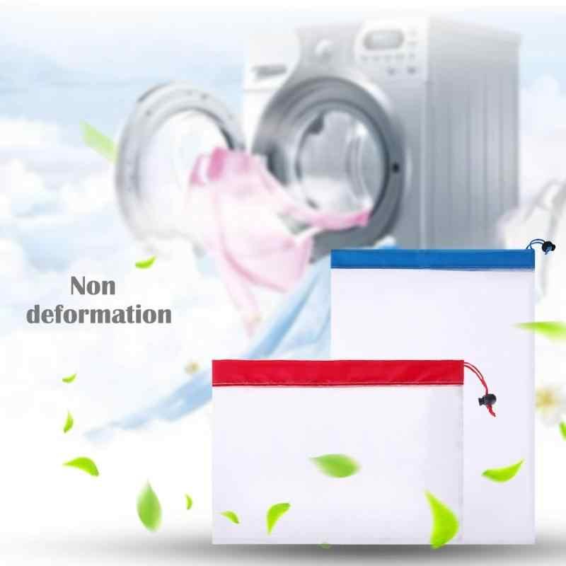 Saco De Higiene viagem Malha Pportable Mulheres Cosméticos Organizador Bolsa Meias Underwear Bra Roupa Organizador Lavagem De Roupa Sacos
