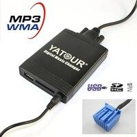 Yatour YT-M06 Numérique musique changeur Pour Acura CL EL MDX RSX TL 1999-2003 Bleu plug Voiture USB MP3 SD AUX adaptateur CD changeur