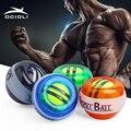 OCIOLI Wrist Gyro Ball Gyroscope Force Power Ball Strengthener Muscle Relax Training Pressure Exerciser Fitness