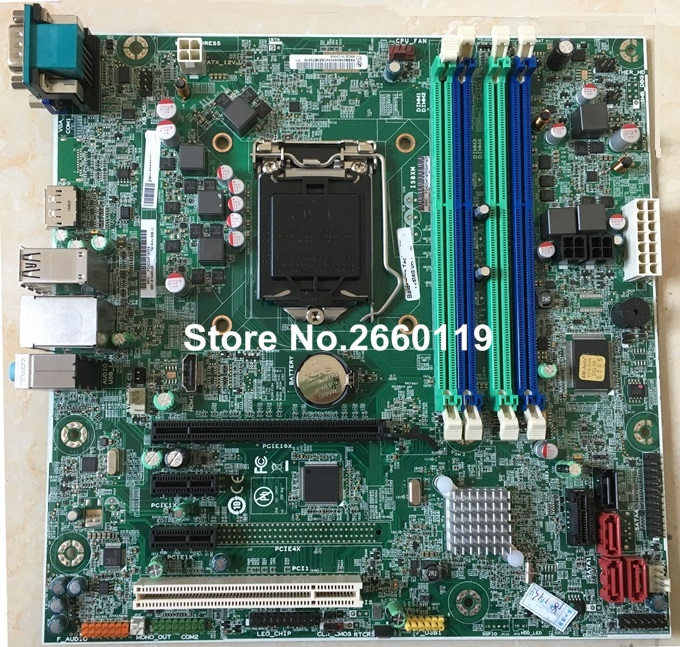 desktop motherboard for lenovo IS8XM system mainboard, fully tested z97 s02 lga1150 ddr3 system mainboard fully tested and 100% working desktop motherboard perfect quality