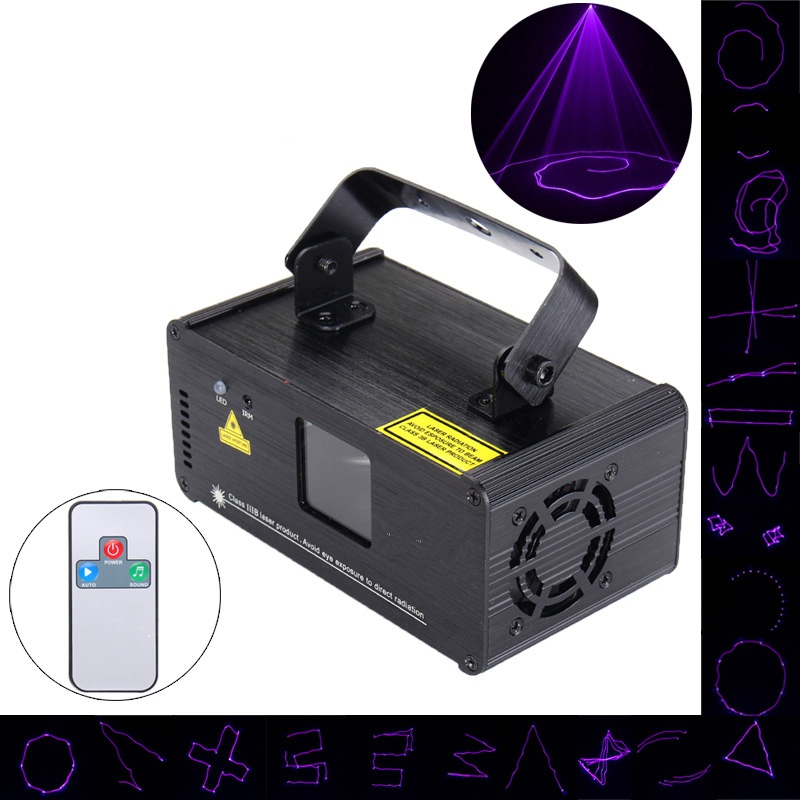 Mini UV Purple LED Stage Light DMX Stage Lighting Effect Laser Projector Light For DJ Party Show Holiday Decoration Lamp Lights kmashi snowflake projector lights outdoor led laser stage chrismas halloween decoration light for dj bar party garden home eu us