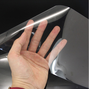 Image 1 - Upgraded 15CM*4M Car Stickers Door Lacquer Protect Film Thick Anti Scratch Transparent Car Cover Car Accessories