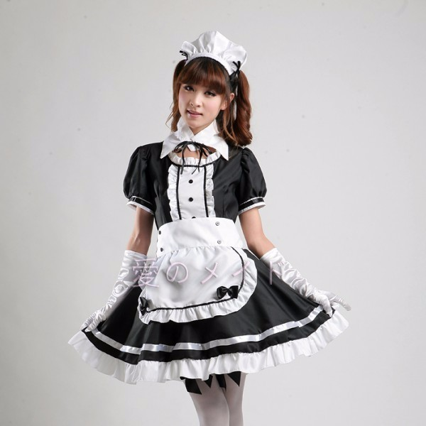 DB23978 sissy maid uniform-6
