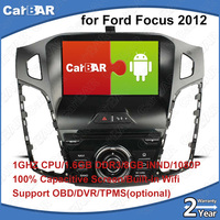 C100 Android 8.0 Car DVD GPS Radio Audio Navigation Player for Ford Focus 2012 Ford C Max 2011 IPOD WIFI Support 3G DVR OBD